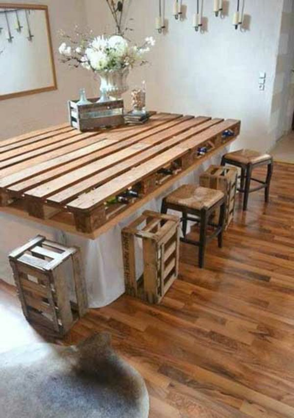 144 best images about europalette on pinterest recycling pallet herb gardens and pallet tables. Black Bedroom Furniture Sets. Home Design Ideas