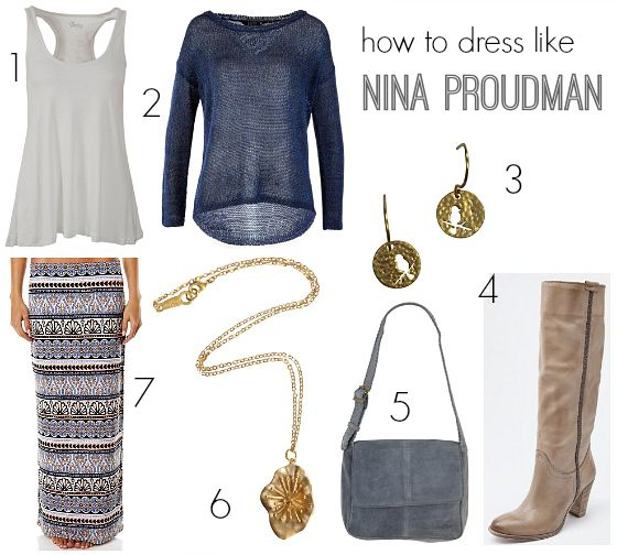 How to dress like Nina Proudman | Outfit inspiration