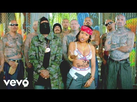 Illuminati symbolism in Lil Wayne ft Tyga & Nicki Minaj 'Senile' music video