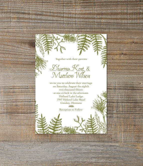 59 best Wedding Invitation Printables images – Blank Wedding Invitation Card Stock