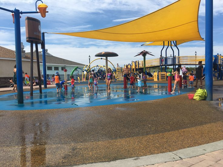Tobay Beach splash park