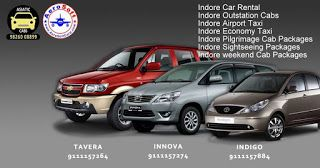 A1 Cab: Car Taxi for Airport Transfer from Indore Aerodrom...