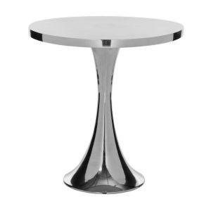 Galium Aluminium Side Table