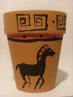 greek art painted on clay pots | Greek Red and Black vase painting on cheap ... | Art for Kids: Middle ...