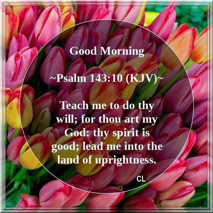 Psalm 143:10 KJV