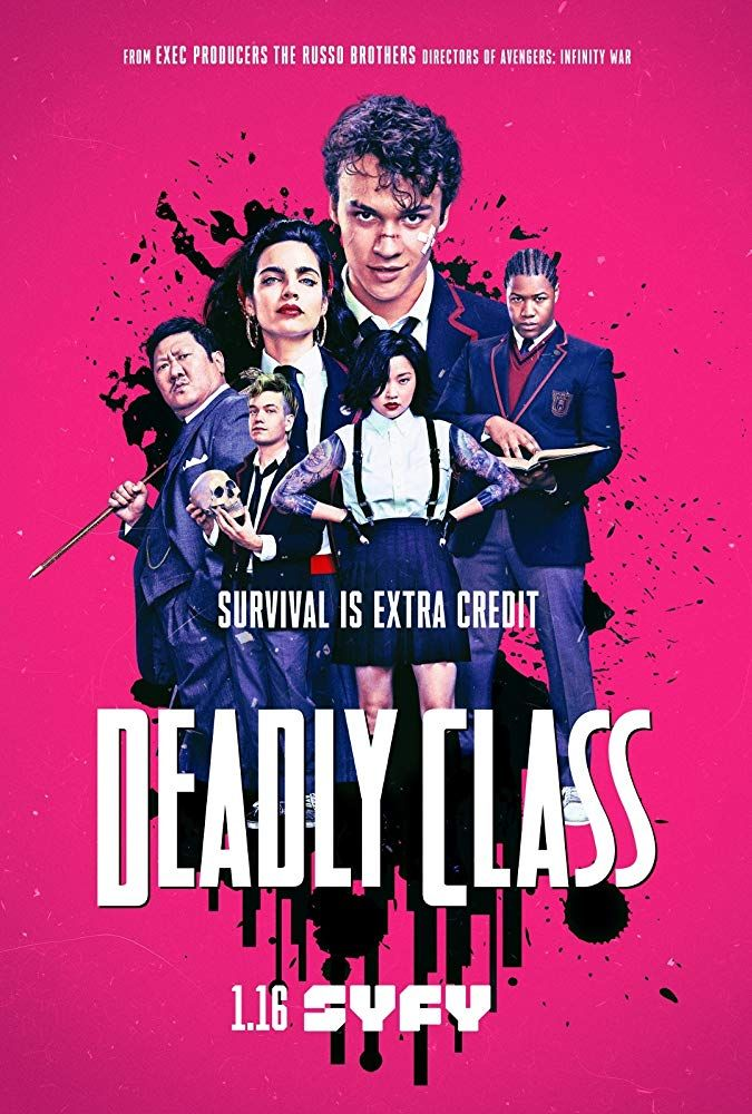 Deadly Class Poster Class Poster Tv Series Dead