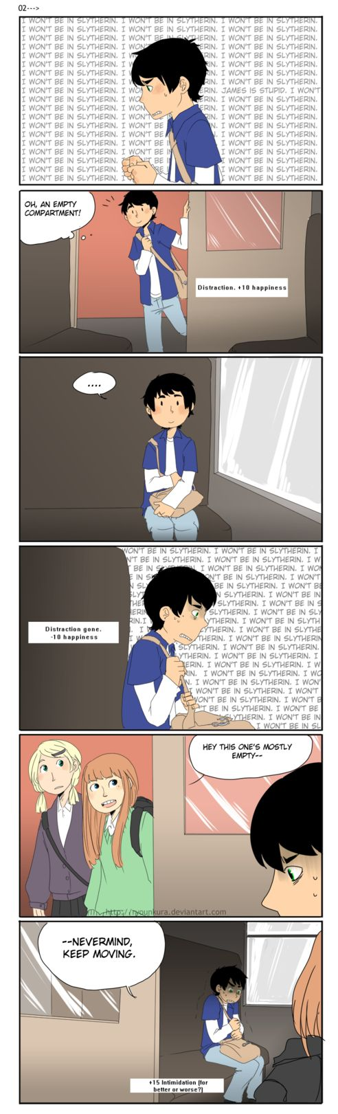 HP: Internal monologue by ryounkura on deviantART