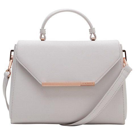 Buy Ted Baker Damira Leather Tote Bag Online at johnlewis.com