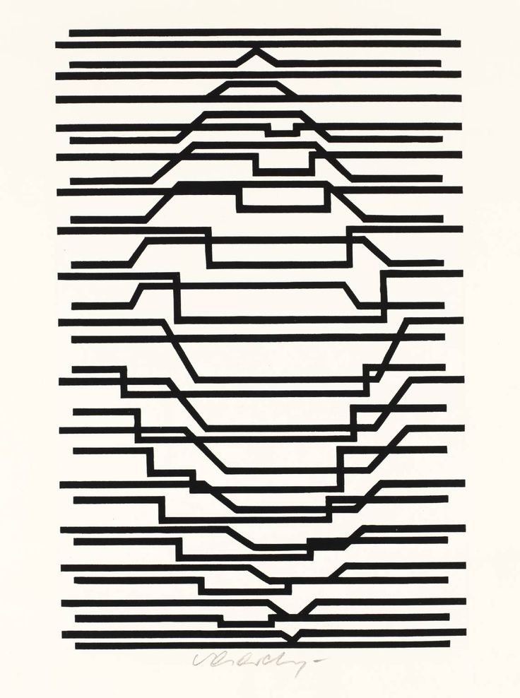 Victor Vasarely, 'Untitled' 1963