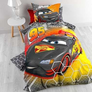 Dekbedovertrek Disney Cars Carbon - multikleur - 140x200