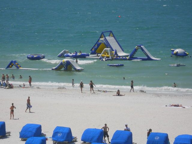 The kids will be playing in the water all day! TradeWinds Island Grand (St. Pete Beach, FL) - ResortsandLodges.com #travel #Florida #ocean