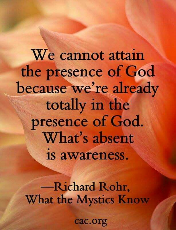 Fr. Richard Rohr-Rohr is in full communion and good standing with the apostate Vatican II Church