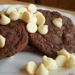 Galletitas con chips de chocolate blanco @ allrecipes.com.ar