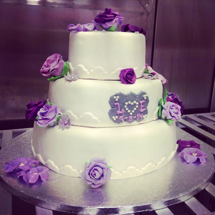 The wedding cake i made