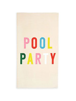 Ban.do Pool Party Beach Towel, £30