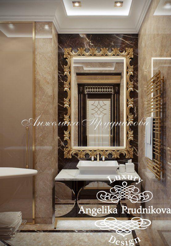 Дизайн проект интерьера квартиры в стиле Ар Деко на Большой Пироговской - фото