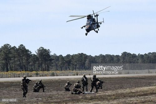 03-29 Members of French army special force take part... #mezieressurissoire: 03-29 Members of French army special… #mezieressurissoire