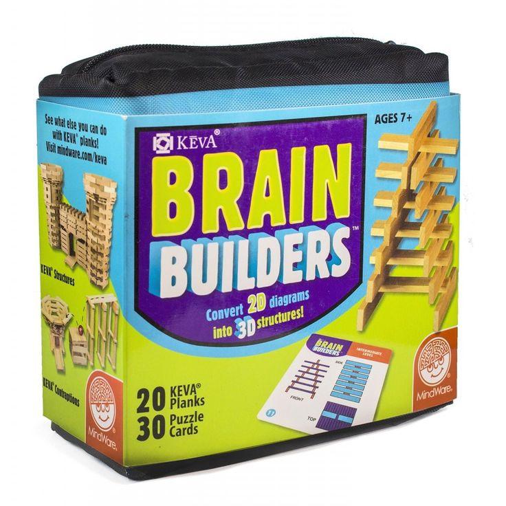 KEVA Brain Builders - Byggleksaker och kulbanor - Leksaker