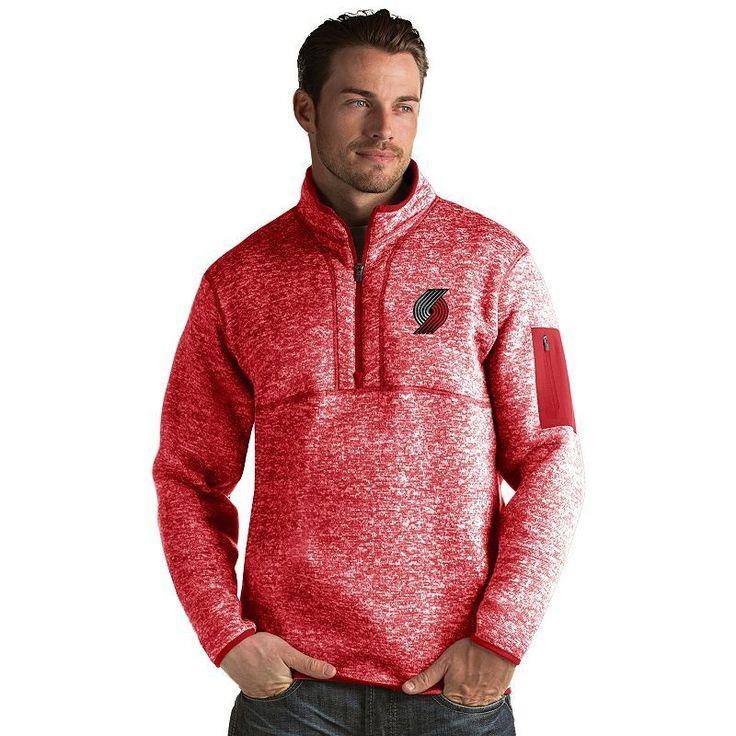Men's Antigua Portland Trail Blazers Fortune Pullover, Size: Medium, Dark Red