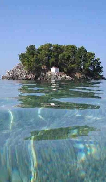 Island of Mary (Panagia) - Parga, Epirus, Greece (via Pinterest)