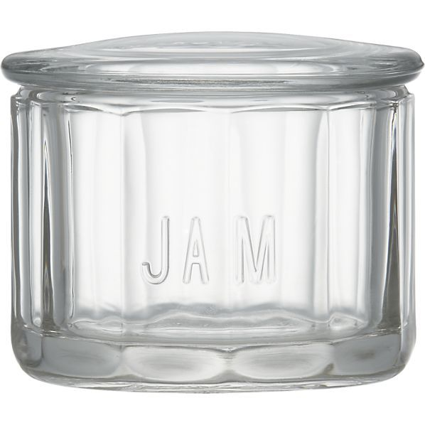 Glass Jam Jar from Crate and Barrel