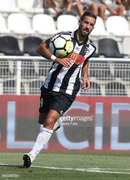 Portimonense SC forward Jorge Pires from Portugal in action during the Portuguese League Cup match between Portimonense SC and GD Chaves at Estadio...