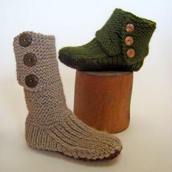 Kışlık El Örgüsü Çorap Patik Modelleri Yapılışı