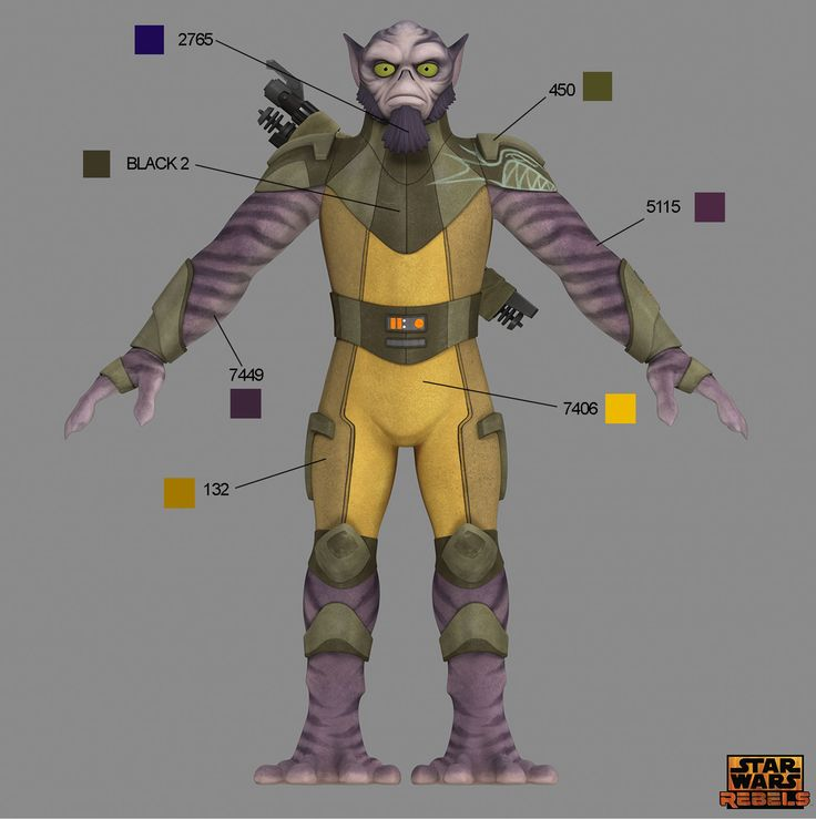 Star Wars Rebels Costume Color Guide for Padawans, Twi'leks, and More   StarWars.com