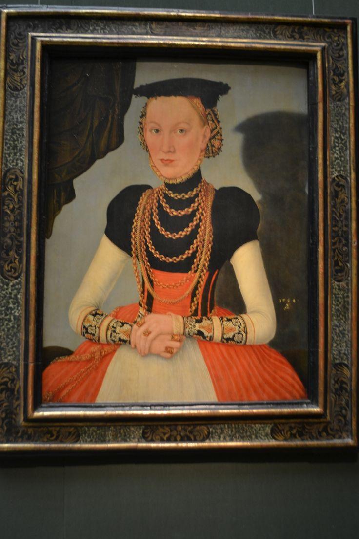 Portrait of a Noblewoman, 1564, Lucas Cranach the Younger
