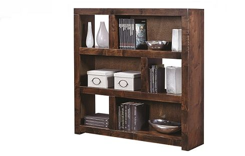 Book/Display Unit SKU: AH3130  A contemporary display unit available with a Fruitwood or Tobacco (shown) finish.The Upper Room Home Furnishings, Ottawa's Premier Home Furniture Store.