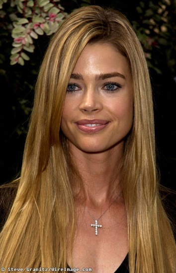 Denise Richards - love her hair