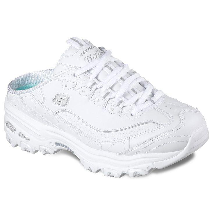 Skechers D'Lites Scene Setter Women's Shoes, Size: 6.5, White
