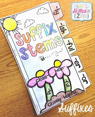 Prefixes, Suffixes and a FREEBIE-- Suffix Stems