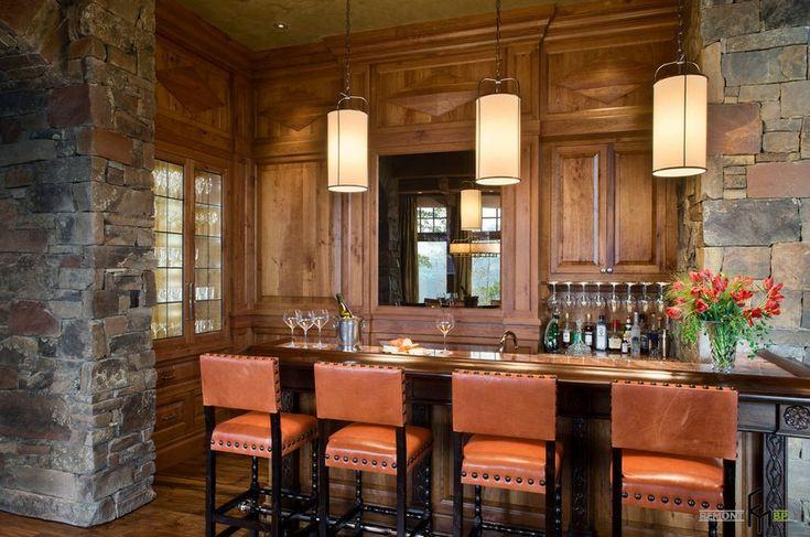 Уютный бар на кухне