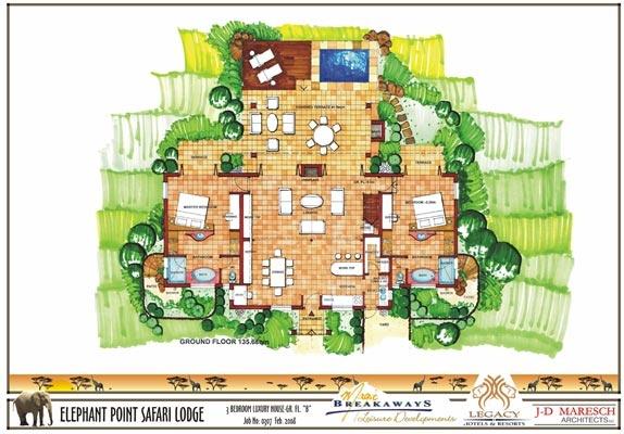 3 bedroom luxury house - ground floor