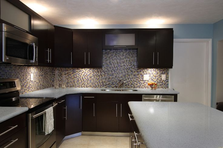 Iced white q premium natural quartz countertop like the Backsplash ideas quartz countertops