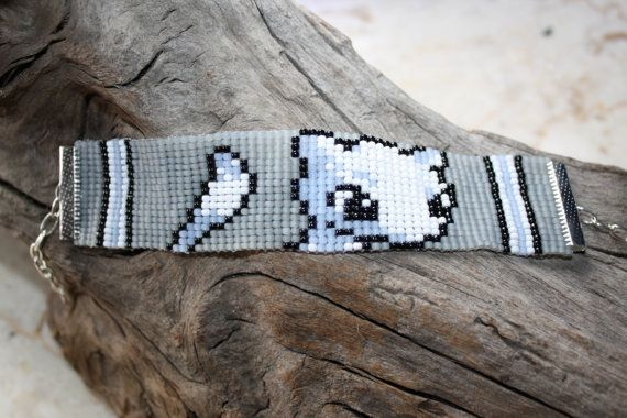 Pokemon métier à tisser perles bracelet Geek par CylentBazaar