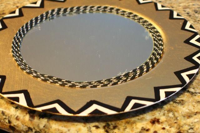 DIY: Nate Berkus Inspired Mirror |