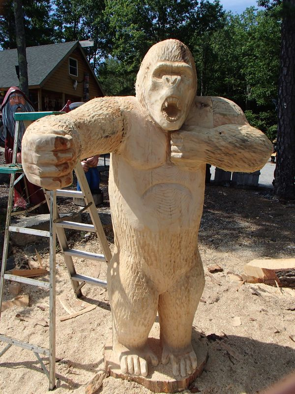 Best arborsculpture chain saw carvings images on