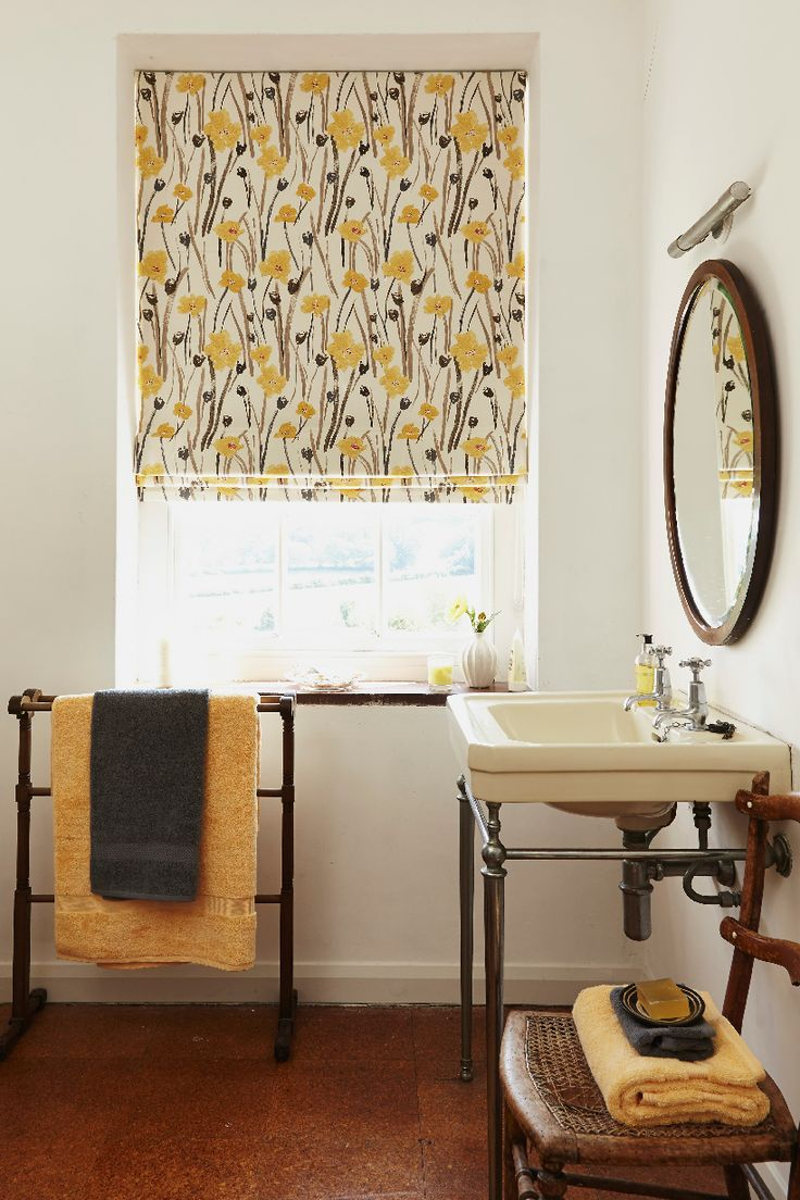 You can add a blackout lining to any of our Roman blinds, including this beautiful Wild Poppies Gold fabric. The bright shades will add fun to a bedroom, but if you suffer with glare on computer or television screens, they'll also help out in other rooms too.