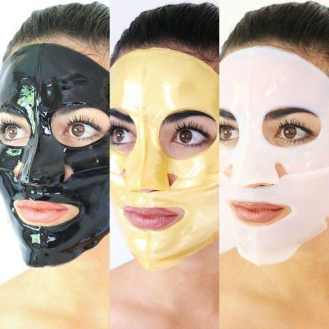 DS exclusive. 3 Day Skin Detox with Collagen Gel Masks // 3 Day Skin Detox with Collagen Gel Masks //