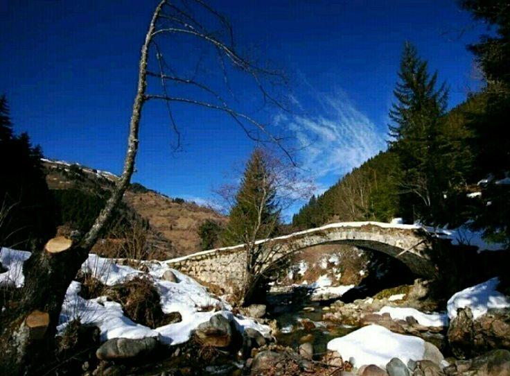 Bridge-Sisto bridge-Constructive: Unknown-Built year: Unknown-Çamlıhemşin-Rize