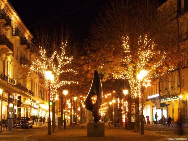 Weihnachten in Baden-Baden   Baden-Baden in Deutschland/Germany ...