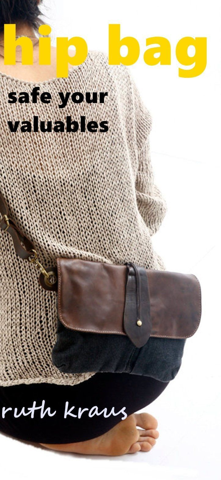 ruth kraus women hipbag fanny pack for her leather and canvas belt bag 1f1b29307