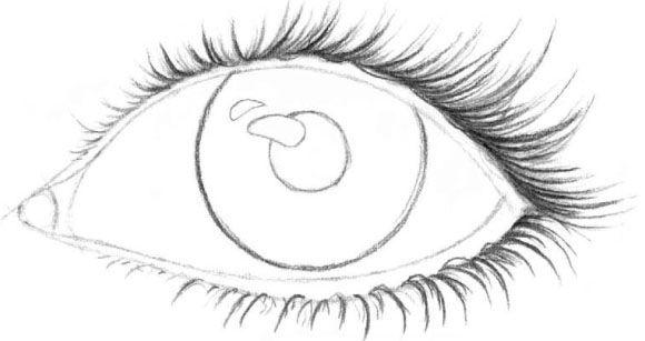 Kak Risovat Resnicy Eye Outline Eye Drawing Human Drawing