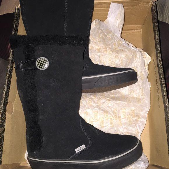 vans fur boots