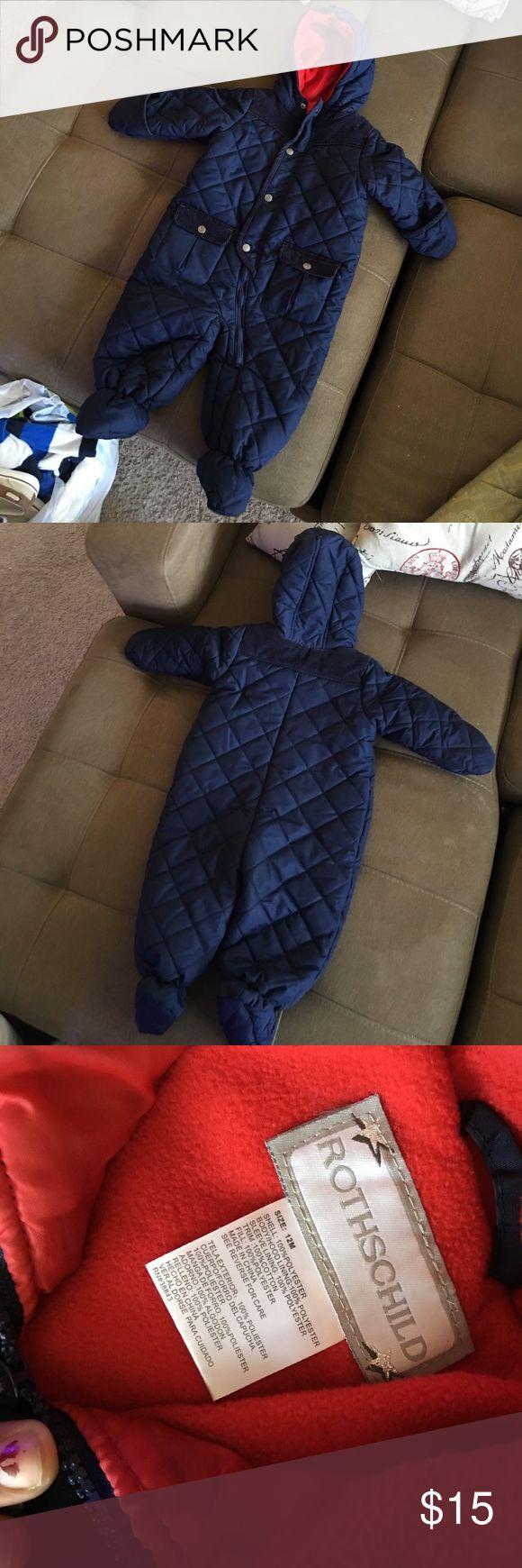 Rothschild baby snowsuit pram Size 12m rothschild Jackets & Coats Puffers