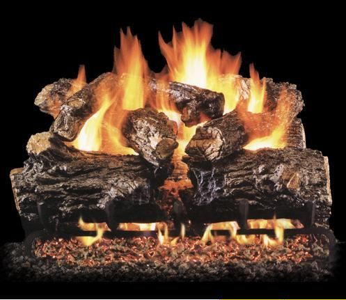 Stone Apple Fireplace-Fireplace Gas Logs Inserts San Diego Peterson Real Fyre