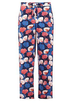 Cyberjammies Winter Floral Print Pyjama Pants #kaleidoscope #nightwear