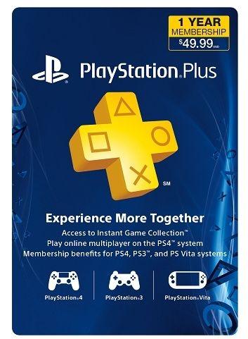 Sony PlayStation Plus One Year Subscription $29.99 (Reg $49.99) - http://couponingforfreebies.com/sony-playstation-plus-one-year-subscription-29-99-reg-49-99/